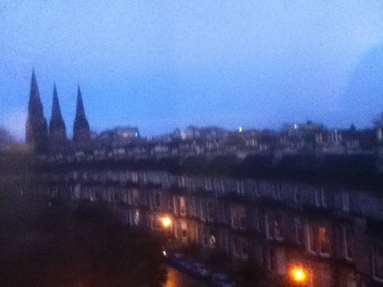 Travelodge Edinburgh Haymarket Hotel : Great view from our room
