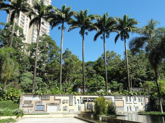 Burle Marx Park: Vista do painel de Burle Marx