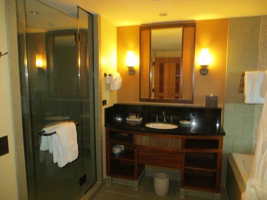 Aulani, a Disney Resort & Spa : Master Bathroom