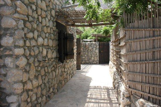 Six Senses Zighy Bay: Entrée de la villa