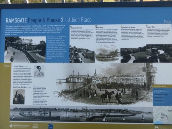 Ramsgate Royal Harbour & Marina: Ramsgate History