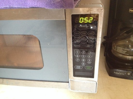 Pousada Suites: Microwave could be cleaner