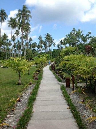 Oyster Island Resort: Grounds