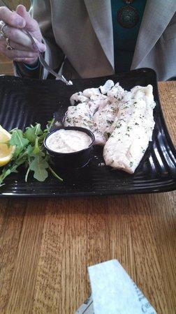 Seaport Fish: broiled haddock