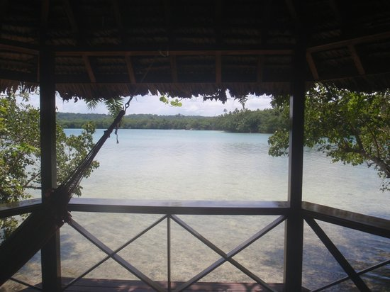 Oyster Island Resort: View from Bungalow