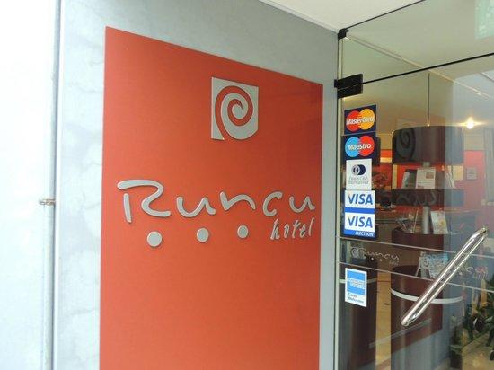 Hotel Runcu Miraflores : Entrada do hotel