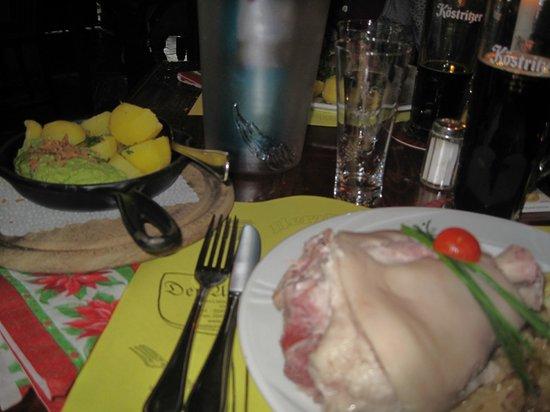 Der alte Fritz: A tavola