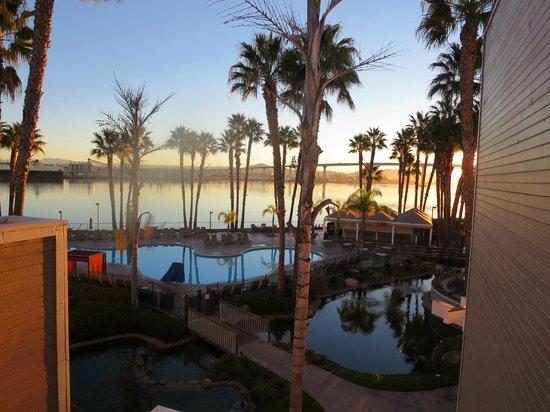 Coronado Island Marriott Resort & Spa: tropical feel