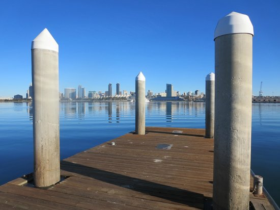 Coronado Island Marriott Resort & Spa: dock at your own risk