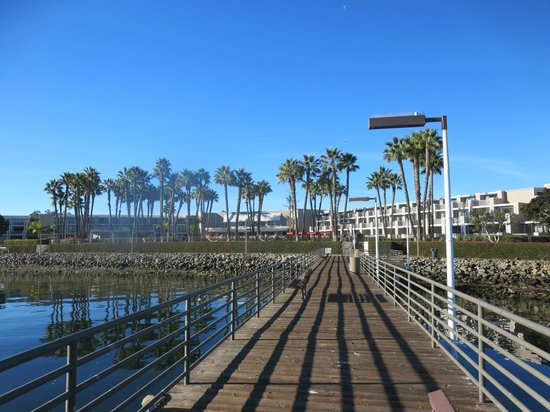 Coronado Island Marriott Resort & Spa: dock view