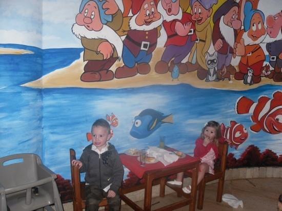 Park Inn by Radisson Sharm El Sheikh Resort : Childrens eating area