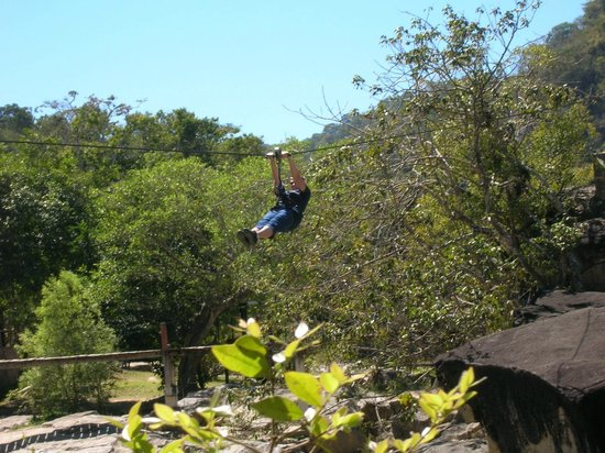 Chico's Paradise : Here I am doing the Zip Lines