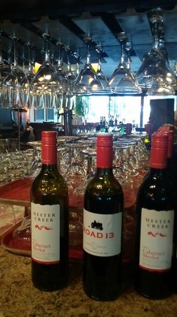 Wildfire Grill: great menu and fine wine list