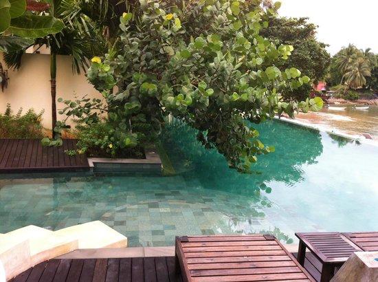 Chantaramas Resort & Spa: la piscine à débordements