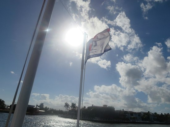 Carrie B Cruises: sunshine