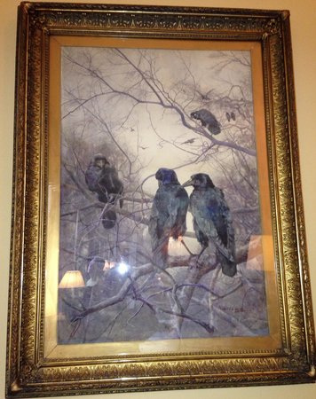 The Merrion Hotel : Our favorite piece of art at The Merrion