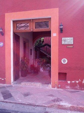 La Casa del Naranjo Hotel Boutique: Hotel Entrance