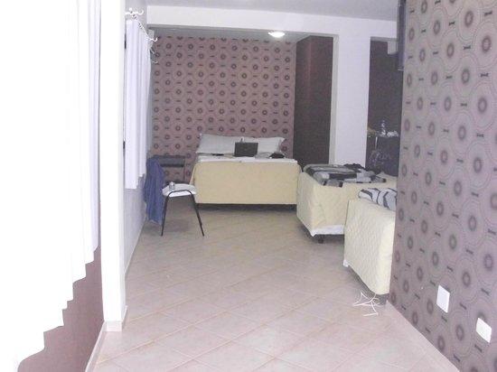 Maria Ricca Palace Hotel: quartos claros e arejados