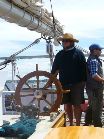 Tall Ship Manitou - Day Tours: The Captain, lol