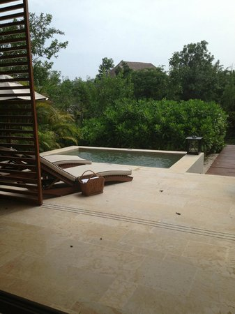 Rosewood Mayakoba: view from the room
