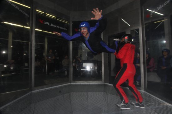 iFLY: Even us old guys can do it!