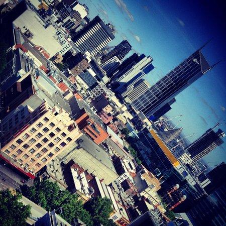 Citadines on Bourke Melbourne : Super cool skyline view