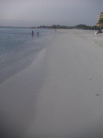 Aruba Marriott Resort & Stellaris Casino: view of the beach at dusk
