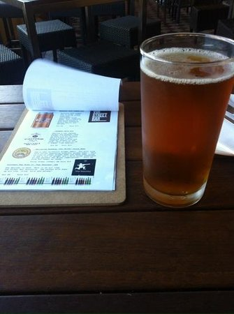 Vue Grand Hotel: lunch beverage and board menu