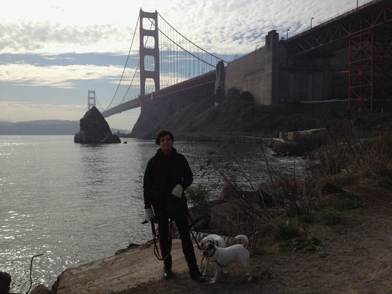 Cavallo Point: Beautiful views of the GG bridge