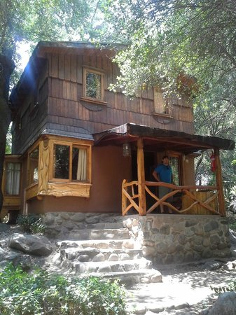 Cascada de las Animas: Our cabin