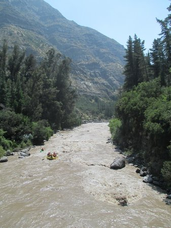 Cascada de las Animas : Whitewater rafting
