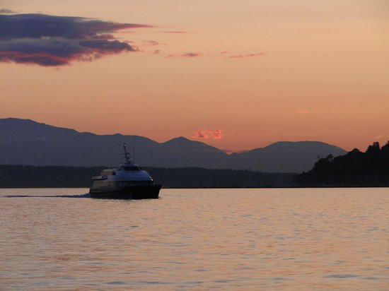 Emerald City Charters: Water views