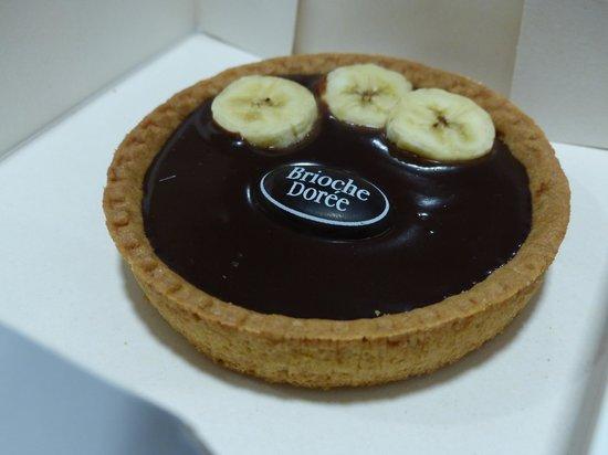 Brioche Doree: Tartelette Chocolat-Banane