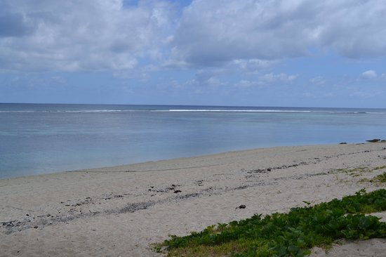 Ha'atafu Beach Resort: The lagoon