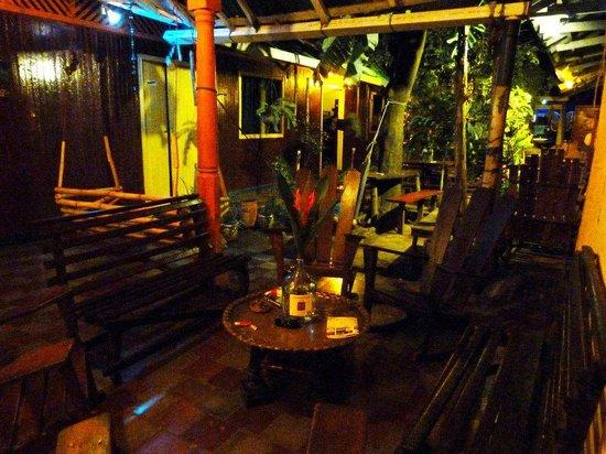 Hostel El Albergue : living room