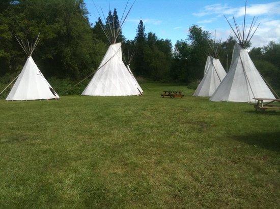 Jackson Wellsprings : Tepee Camping