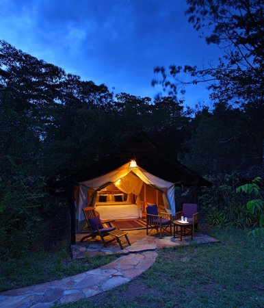 Sarova Mara Game Camp: Well appointed Tents