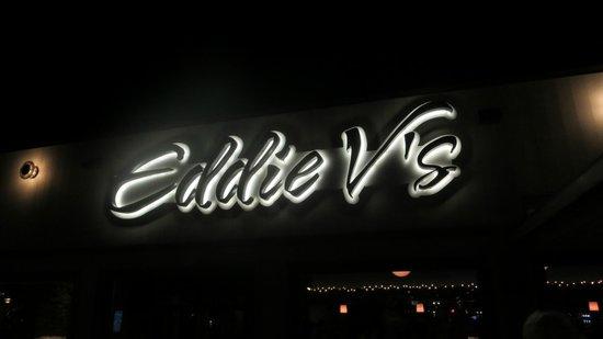 Eddie V's Prime Seafood : sign
