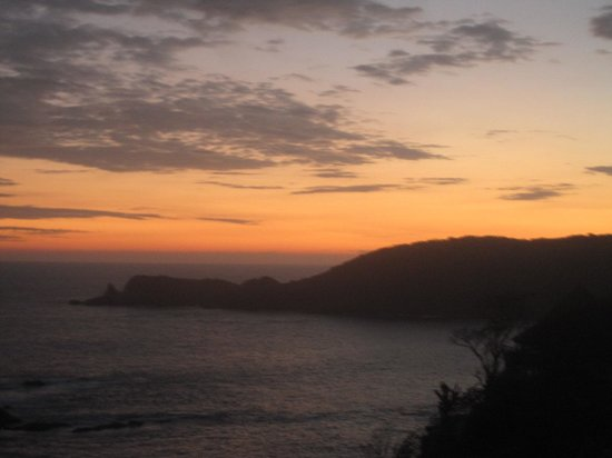 Casa Pan de Miel: Sunset from Room
