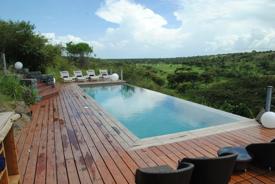 Mahali Mzuri - Sir Richard Branson's Kenyan Safari Camp: Pool View