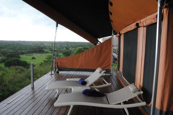 Mahali Mzuri - Sir Richard Branson's Kenyan Safari Camp: The Deck