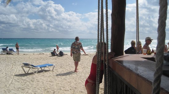 Real Playa del Carmen : The beach