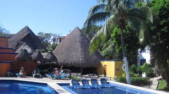 Real Playa del Carmen: The pool