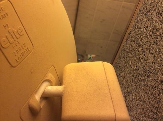Scandic Marski: пыль в ванной комнате толщиной в один мм