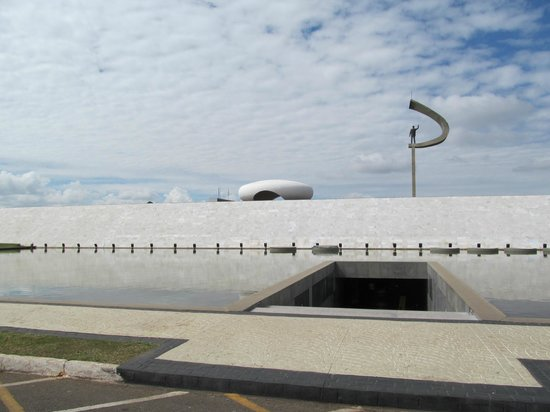 Entrada do Memorial JK