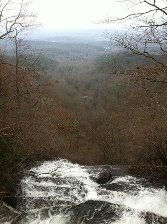 Amicalola Falls State Park : Top of Amicalola Falls