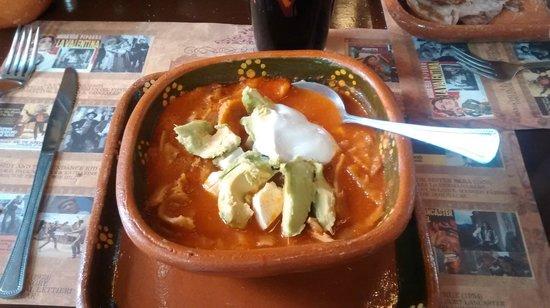 Cafe La Antigua Casa Roja: Sopa de Tortilla is highly recommended