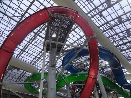 Jay Peak Resort: Waterpark- slides
