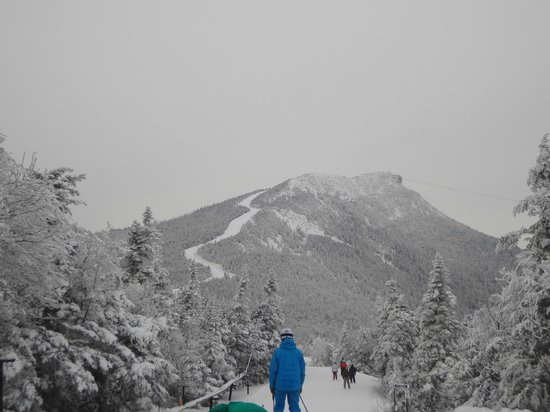 Jay Peak Resort: View from the mountain