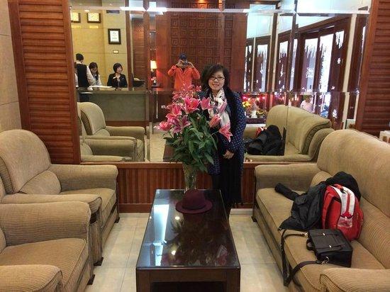 Golden Legend Hotel: Hotel's lobby